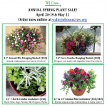 2018 SPRING PLANT SALE – April 28-29 & May 12 – ORDER NOW!